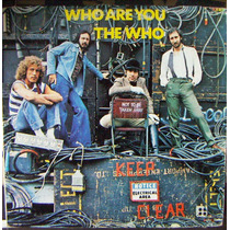 Rock Inter, The Who, Who Are You, Lp 12´, Hecho En México
