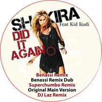 Shakira Feat Kid Kudi Did It Again Remix Lp Picture Disc Ltd