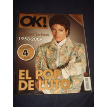 Michael Jackson Revista Ok Edicion Colecciòn 4 Posters
