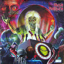 Heavy Metal. Iron Maiden ,fotodisco 12´,
