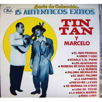 Tin Tan Y Su Carnal Marcelo, 15 Éxitos, Lp 12´,
