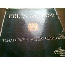 Disco Acetato De Erica Morin Tchaikovski Violin Concerto