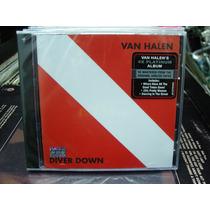 Van Halen Diver Down Cd Nuevo Remaster Hard Rock Importado