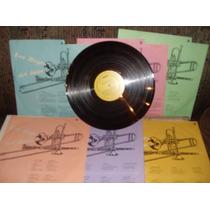 Disco Acetato 6 Lp Coleccion Los Reyes D Jazz Años 30 40 50