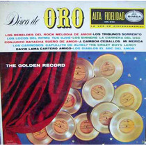 Rock Mex, (varios) Rebeldes Del Rock. Disco De Oro, Lp 12´,