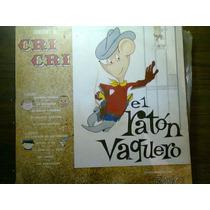 Disco Acetato De Canciones De Cri Cri El Raton Vaquero