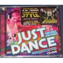 Just Dance 2013 Cd Y Dvd Psy Nicki Minaj Avicii Marron 5