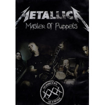 Metallica. Master Of Puppets. Dvd Nuevo.