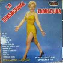 Rock Mexicano, Evangelina Elizondo, La Sensacional, Lp 12´,
