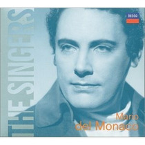 Mario Del Monaco The Singers Enhanced Cd Op4 Tenor Opera