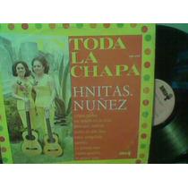 Disco L.p.grande Hermanas Nuñez