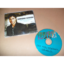 Enrique Igresias Dimelo Do You Know? Cd Sencillo Promo Raro
