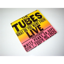 Disco Lp De The Tubes / What Do You Want From Live (2 Lp´s)
