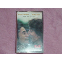 Cassette Milk And Honey De John Lennon&yoko Ono, Polydor