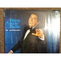 Disco Acetato De: Marco Antonio Muñiz Xx Aniversario