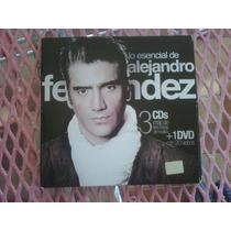 Lo Esencial De Alejando Fernandez 3 Cds Y 1 Dvd 20 Videos