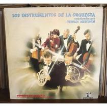 Yehudi Menuhin 2 Lp Album Los Instrumentos De La Orquesta