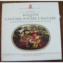 Clásica,giovanni Giacomo,belleti Per Cantare,sonare Lp12´