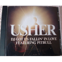Usher - Dj Got Fallin In Love Feat. Pitbull Single Impor Usa
