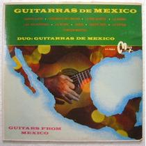 Guitarras De Mexico 1 Disco Lp Vinilo