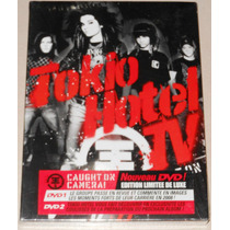 Tokio Hotel Doble Dvd Ed. Deluxe Digipack Caugh On Camera