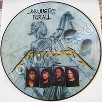 Heavy Metal, Metallica, And Justice Forall. Fotodisco 12