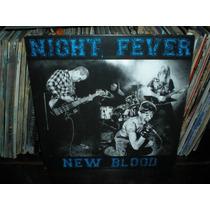 Night Fever, New Blood Lp Blanco Hardcore Dinamarca