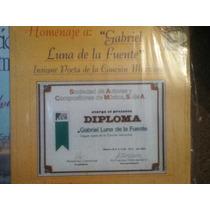 Disco Acetato De: Gabriel Luna De La Fuente