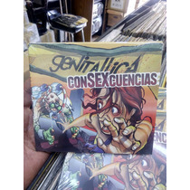 Genitallica Consexcuencias Cd Nuevo Digipack Rock Mexicano