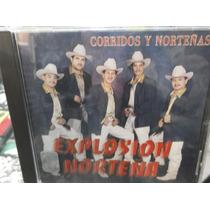 Explosion Norteña Corridos Y Norteñas Cd Nuevo