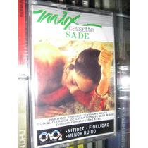 Audio Cassette Sade Maxi Mix Descontinuado Nuevo