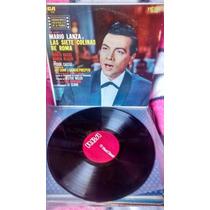 Mario Lanza,opera,las Siete Colinas De Roma,disco Acetato Lp