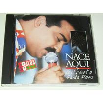 Cd Salsa Gilberto Santa Rosa / Nace Aqui