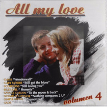 Cd Disco Compacto All My Love Volumen 4