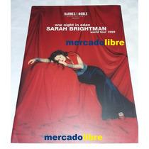Sarah Brightman One Night In Eden Tour Book - Raro