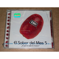 Emi El Sabor Del Mes 5 Promo Nuevo Cd
