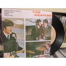 The Beatles Disco Ep Nuevo 10037 4 Temas