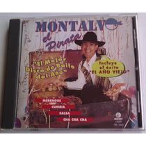 Montalvo El Mejor Disco De Baile Del Año Cd 1a Ed 1997 Bvf