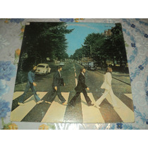 Vinilo L. P. 12 The Beatles - Abbey Road Edicion Mexicana