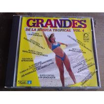 Grandes De La Musica Tropical Vol 4 Cd Raro Unic Ed 1994 Bvf