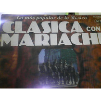 Disco De Acetato Clasica Con Mariachi