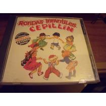 Cd Cepillin, Rondas Infantiles, Edicion 1997