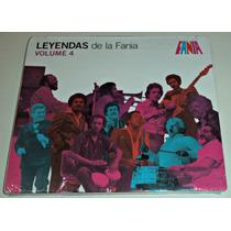 Cd Leyendas De La Fania Vol 4 / Importado / Nuevo Sellado