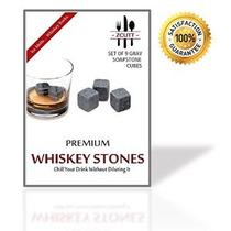 Conjunto De 9 Premium De Whisky Que Sorben Stones. Hecho De