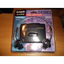 Walkman Reproductor Cassette Casio As-31 Tocacintas