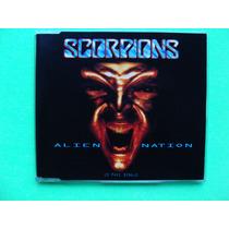 Scorpions - Alien Nation - (cd Single, 1993, Alemania)