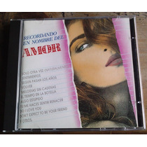 Recordando En Nombre Del Amor Cd Rarisimo Hecho En Usa 1992