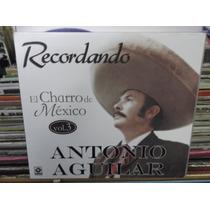 Antonio Aguilar El Charro De Mexico Vol.3 Cd Digipak