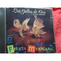 Cd Los Gallos De Oro De Antonio Albarran Fiesta Mexicana-90