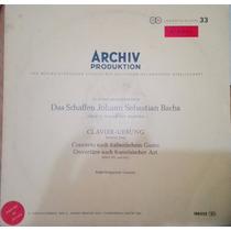 Raro Disco. Concierto Italiano Y Obertura Francesa. J.s.bach